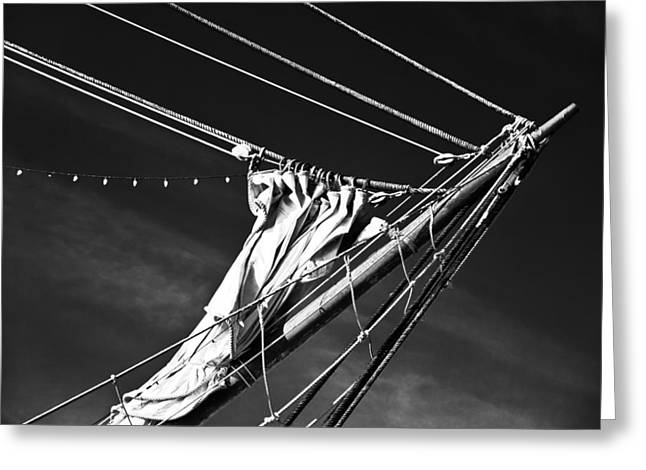 Greeting Card featuring the photograph The Wind Not Caught by Ryan Weddle