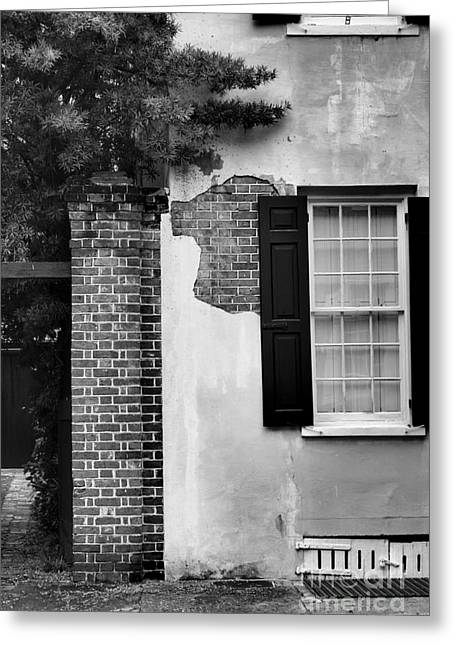 Greeting Card featuring the photograph The Window by Tamera James