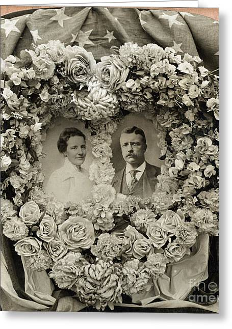 Theodore & Edith Roosevelt Greeting Card by Granger