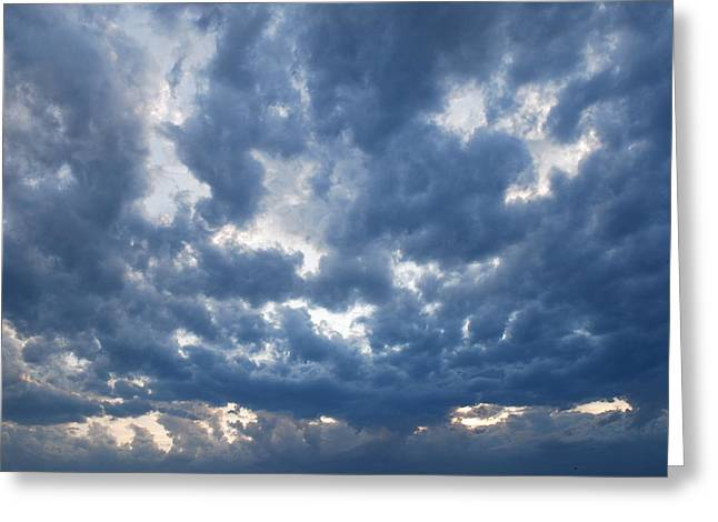 Things In The Sky Greeting Card by Marco Kienle