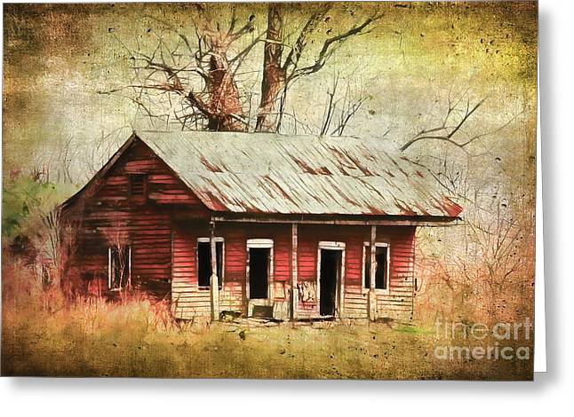 This Old House Greeting Card by Judi Bagwell