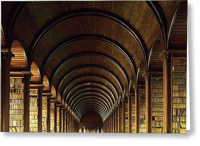 Thomas Burgh Library, Trinity College Greeting Card