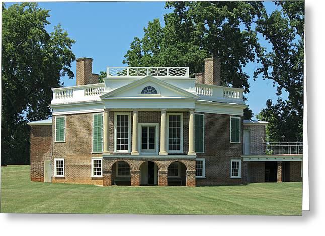 Thomas Jeffersons Poplar Forest Greeting Card