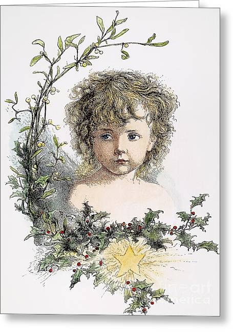 Thomas Nast: Christ Child Greeting Card by Granger