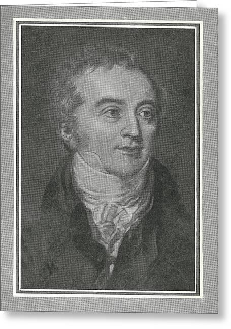 Thomas Young, British Physicist Greeting Card