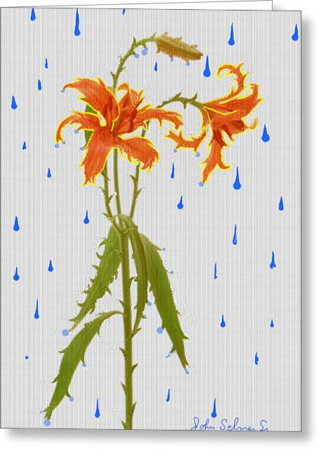 Thornlily Greeting Card