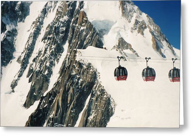 Three Gondolas Greeting Card
