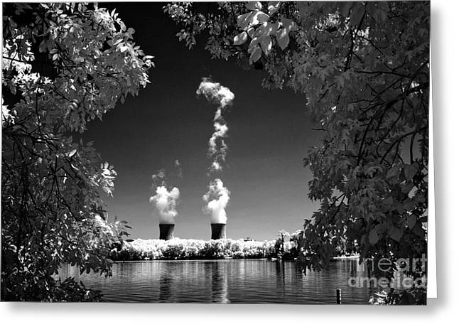 Three Mile Island Greeting Card by Paul W Faust -  Impressions of Light