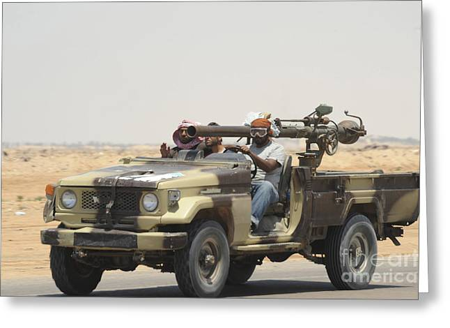 Three Rebel Fighters In A 4x4 Greeting Card