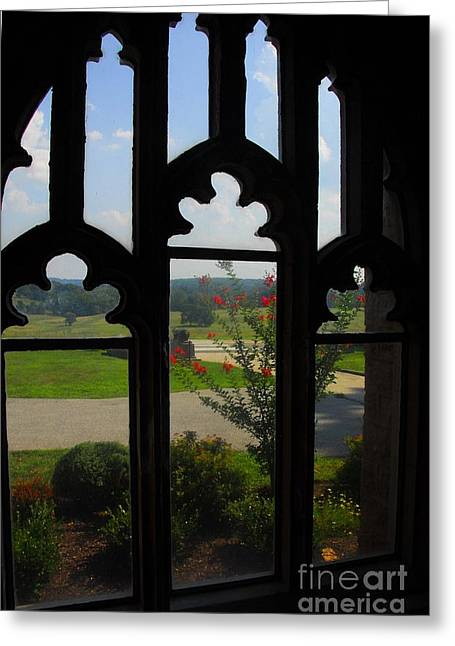 Greeting Card featuring the photograph Through The Chapel Arches by Cindy Manero