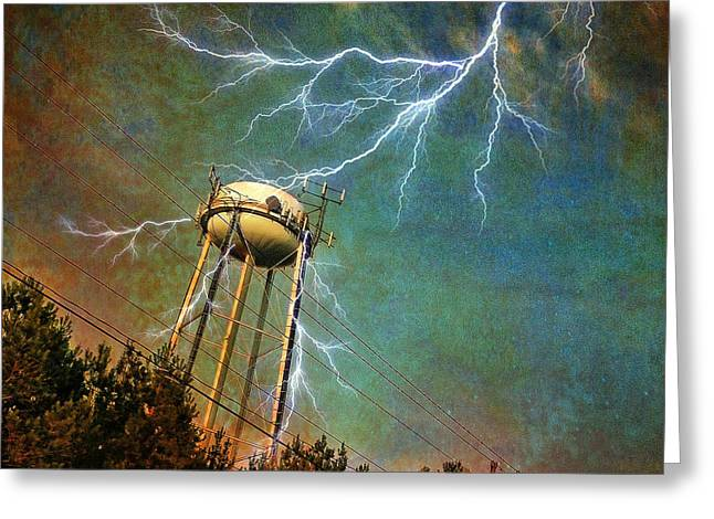 Thundering Bolts Greeting Card