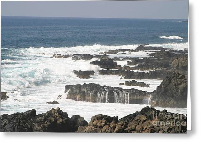 Tidal Falls Greeting Card
