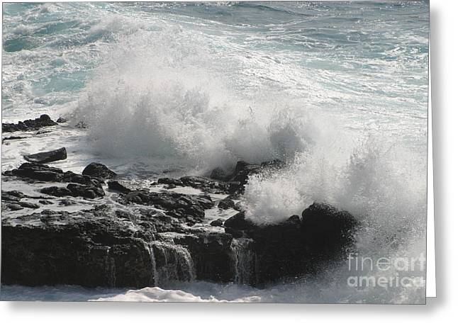 Tidal Spray Greeting Card