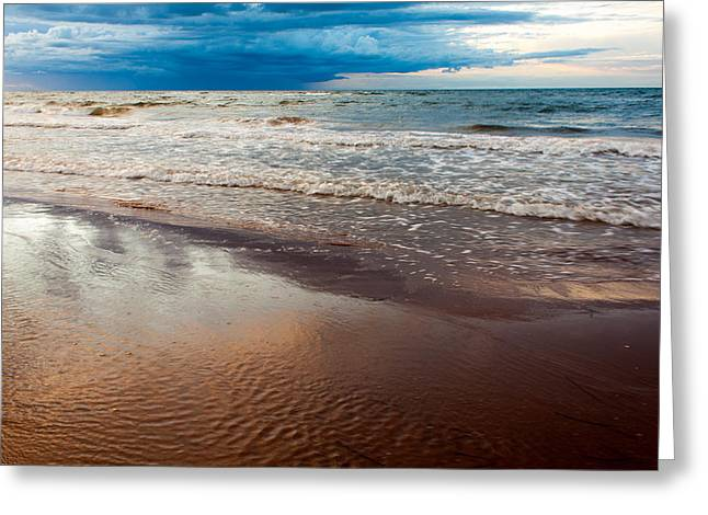 Tide Greeting Card by Matt Dobson