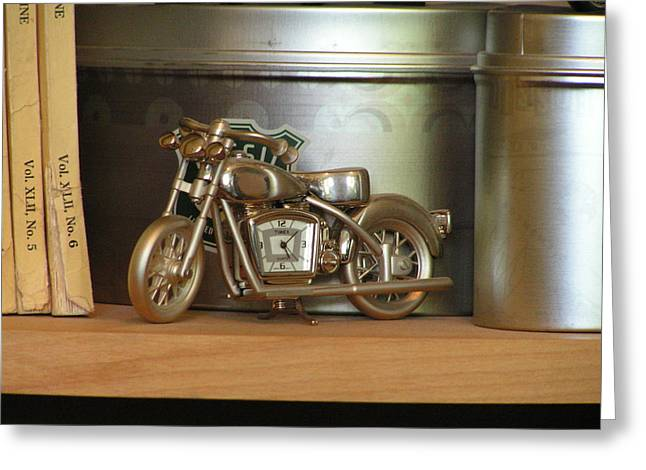 Greeting Card featuring the photograph Time And Cycles by Rand Swift