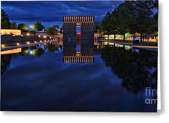 Time For Reflection Greeting Card by Gib Martinez