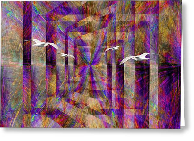 Time Passages Greeting Card by Tim Allen