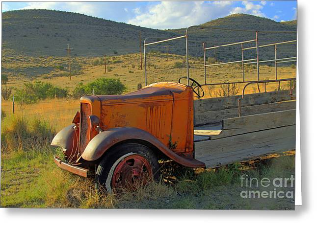 Tinnie Truck Greeting Card