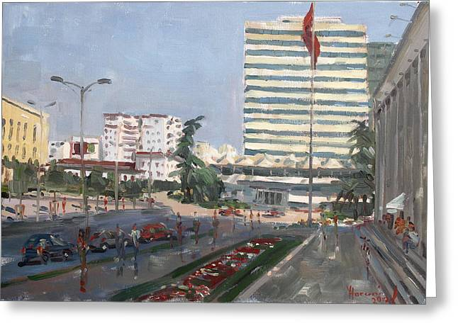 Tirana Greeting Card