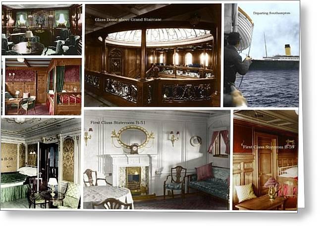 Titanic interior in color