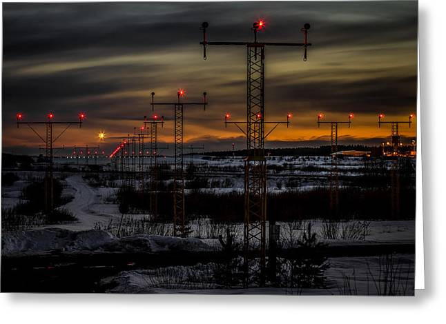 Greeting Card featuring the photograph TMP by Matti Ollikainen
