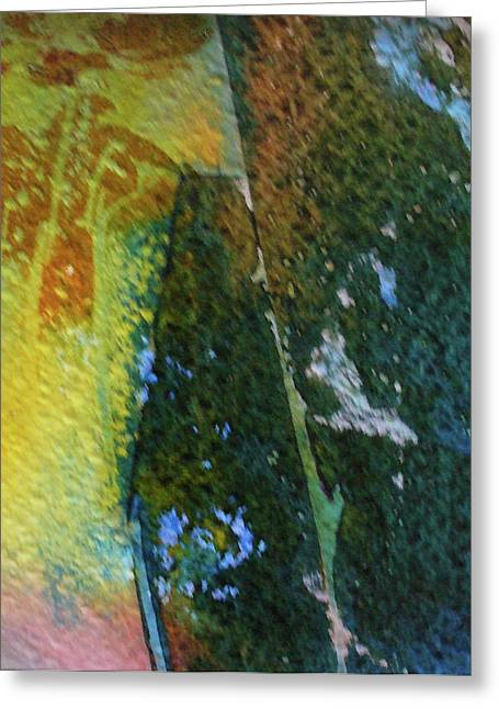 Greeting Card featuring the painting To Have And To Hold by Mary Sullivan