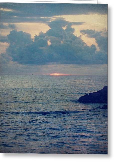 To The Ends Of The Earth Greeting Card by Laurie Search