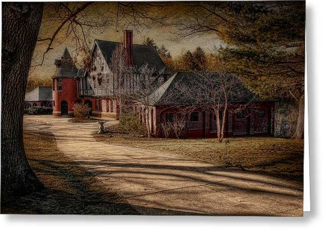 To The Round Room Greeting Card by Robin-Lee Vieira