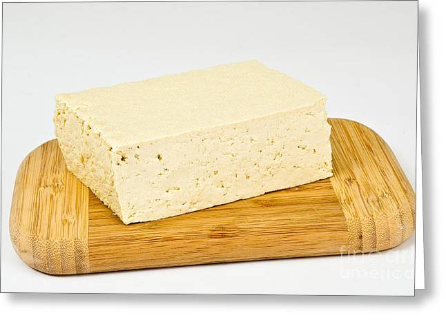 Tofu Greeting Card by Photo Researchers