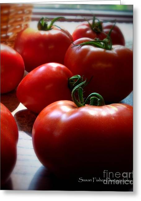 Tomato Love Greeting Card