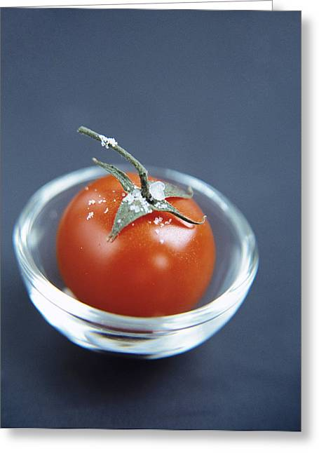 Tomato Greeting Card by Veronique Leplat