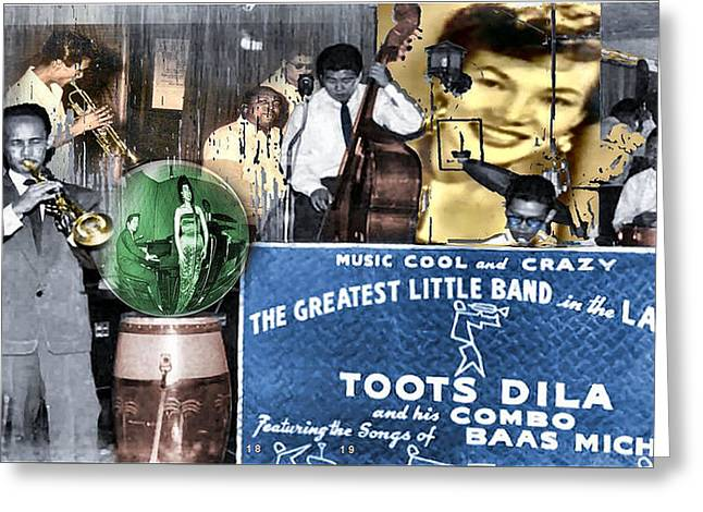 Toots Dila And Band Greeting Card