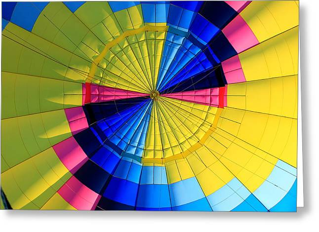 Top Of The Envelope Greeting Card by Mark Codington