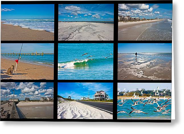 Topsail Island Images Greeting Card