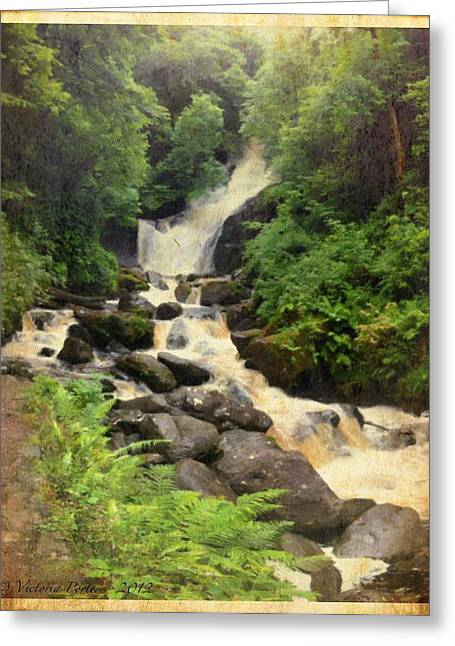 Torc Waterfall In Ireland Greeting Card