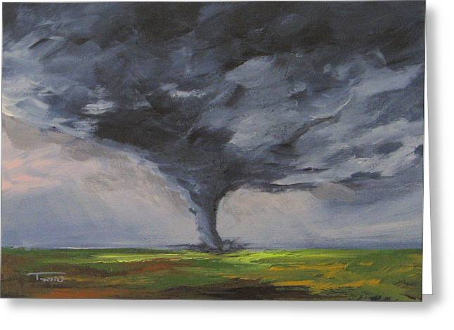 Tornado Viii Greeting Card