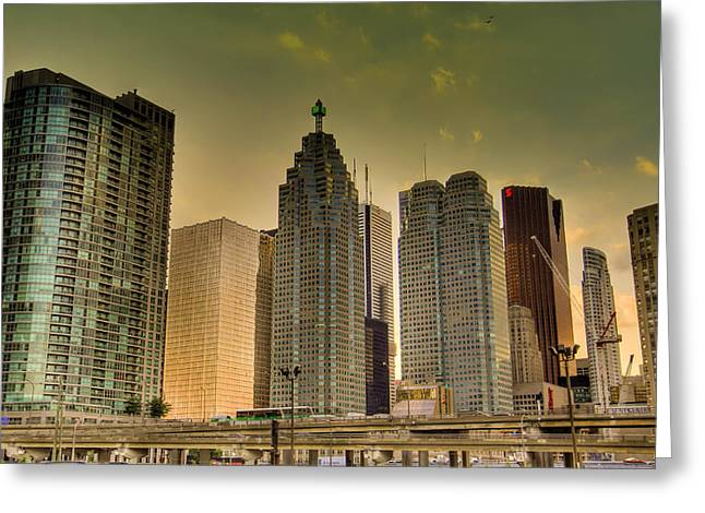 Greeting Card featuring the photograph Toronto by Nick Mares