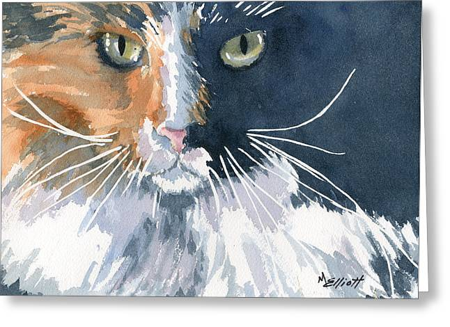 Tortie Greeting Card
