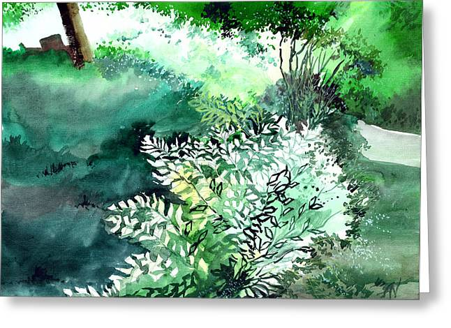 Touch Of Light 1 Greeting Card by Anil Nene