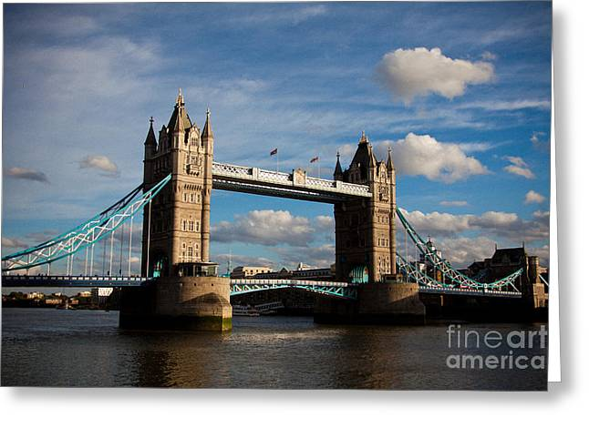 Tower Bridge Greeting Card by Steven Gray