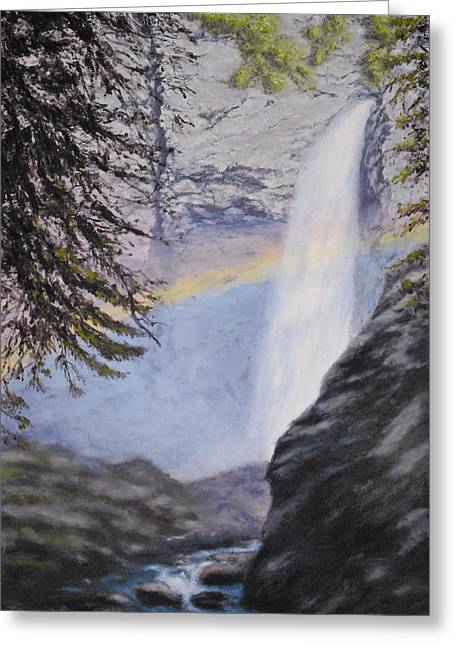 Tower Falls Greeting Card