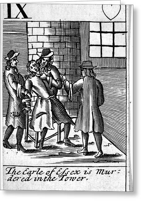 Tower Of London: Murder Greeting Card