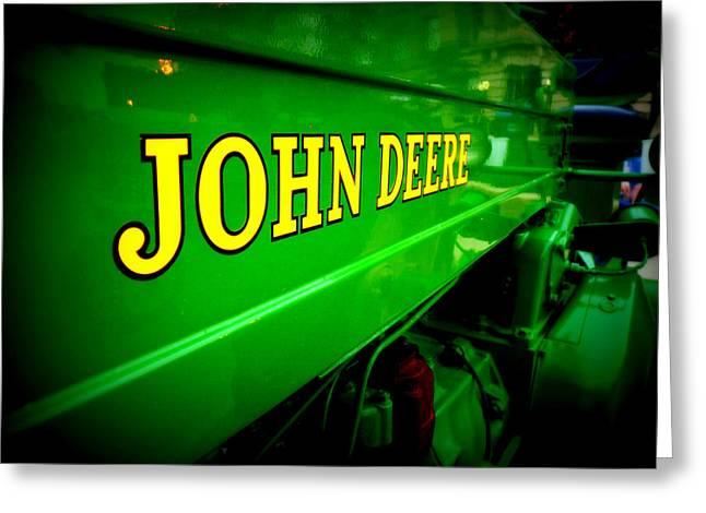 Tractor Art Greeting Card by Joe Johansson
