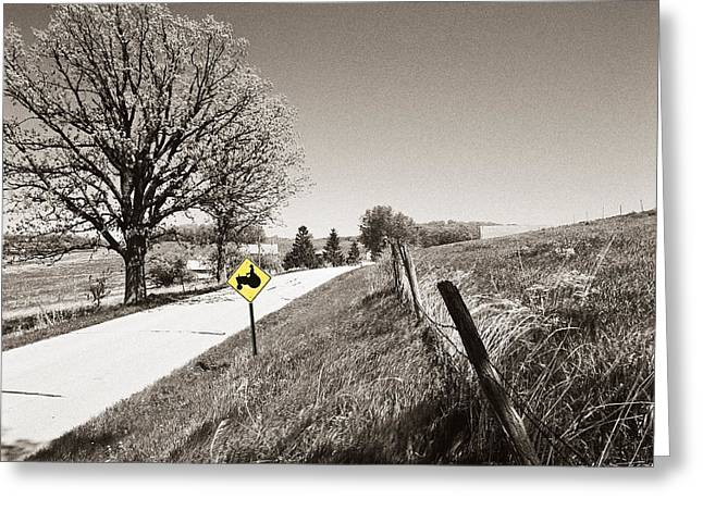 Tractor Country Greeting Card