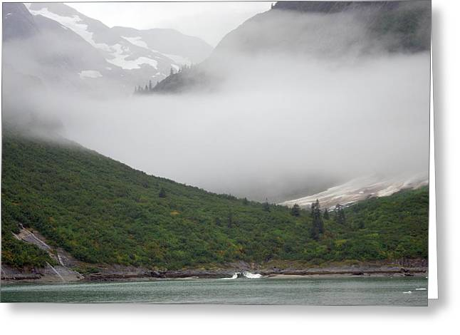 Tracy Arm Inlet Greeting Card