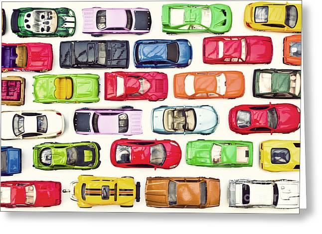 Traffic Jam Greeting Card by Catherine MacBride