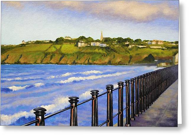 Tramore County Waterford Greeting Card by John  Nolan