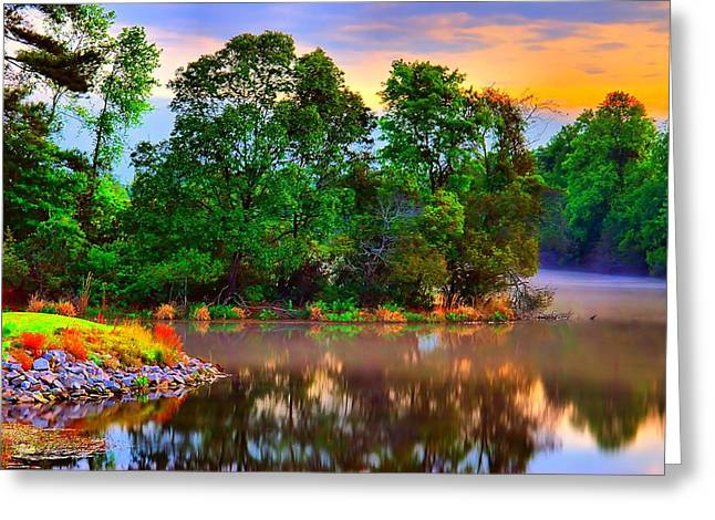 Tranquility  Greeting Card by Ken Beatty