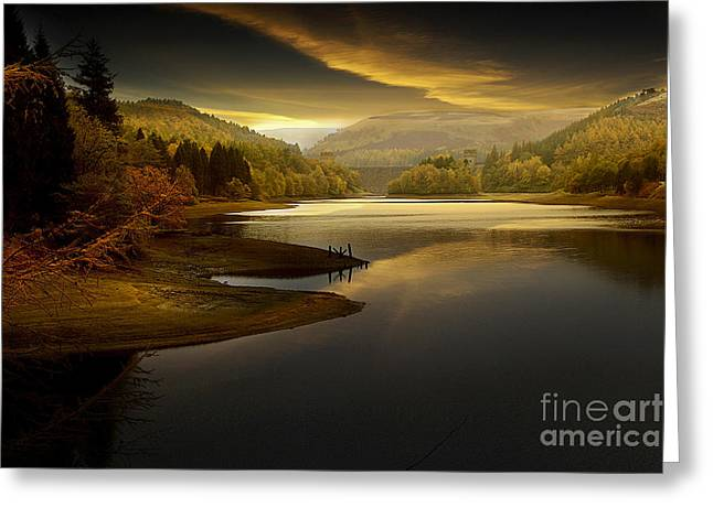 Tranquility Greeting Card by Martin Jones