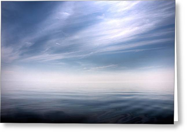 Tranquility Greeting Card by Micael  Carlsson